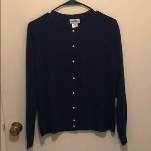 Sweaters - NEVER WORN // blue cardigan